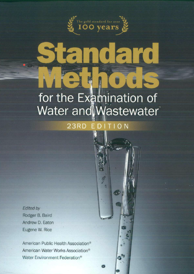 Standard Methods 23RD Edition